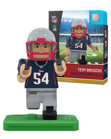 NFL Legends New England Patriots Tedy Bruschi Mini Figure