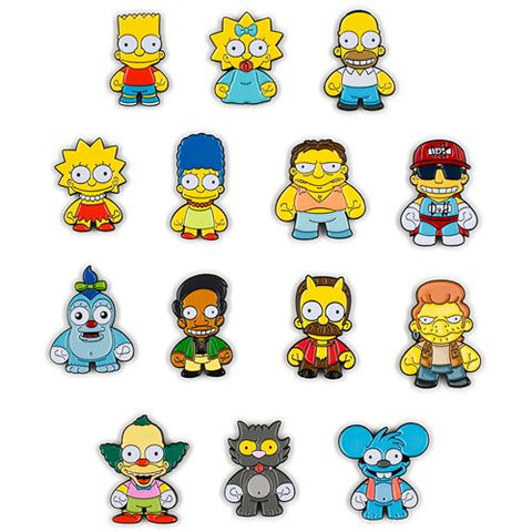 Kidrobot The Simpons Enamel Pin Series Blind Case