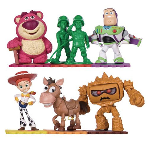 Beast Kingdom Toy Story Mini Egg Attack Statue Set 6-Pack