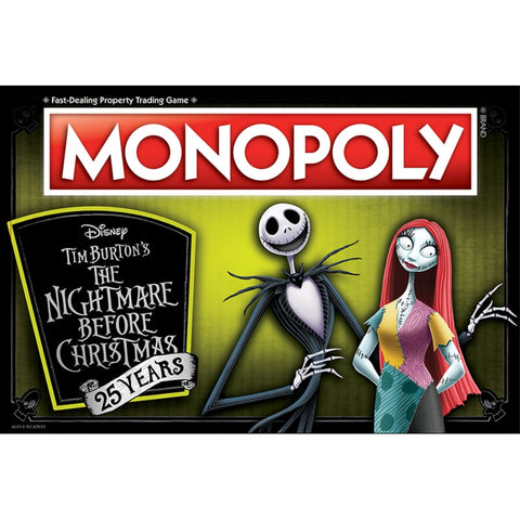 Monopoly The Nightmare Before Christmas 25th Anniversary Collectors Edition