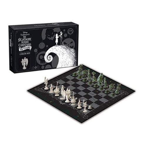 Disney The Nightmare Before Christmas 25th Anniversary Chess Set