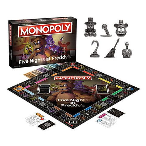 Five Nights at Freddy's Monopoly Edition