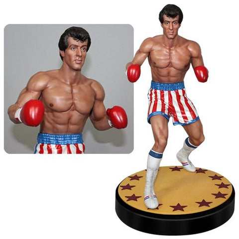 Rocky Balboa 14 Scale Statue Nerdy Collectibles