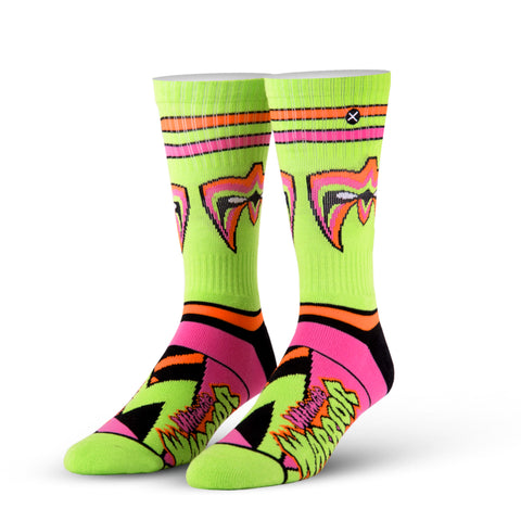 Odd Sox WWE Ultimate Warrior Socks