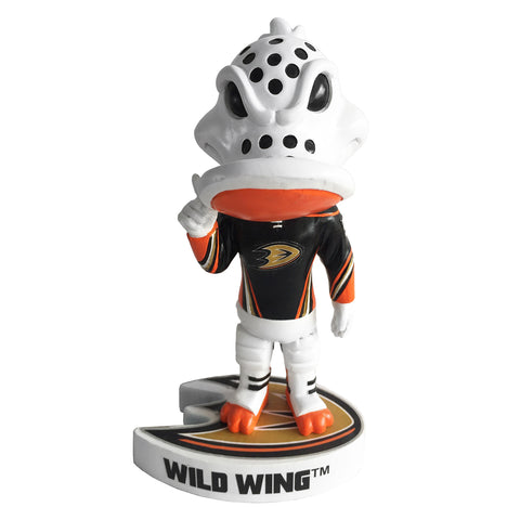 NHL Anaheim Ducks Mascot Wild Wing Logo Base Bobblehead