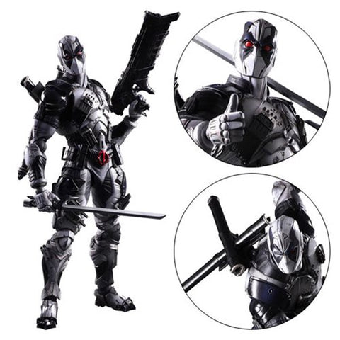 Marvel Universe X-Force Deadpool Play Arts Kai Variant Action Figure