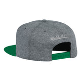 Mitchell & Ness NBA Boston Celtics Fleece Clear Script Snapback Hat