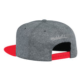 Mitchell & Ness NBA Atlanta Hawks Fleece Clear Script Snapback Hat