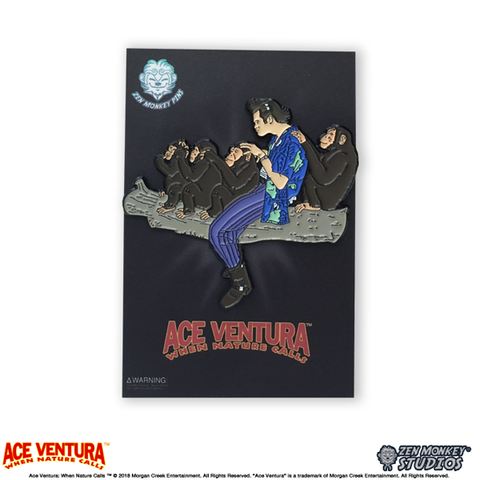 Ace Ventura When Nature Calls - Ace Ventura Groomer Pin