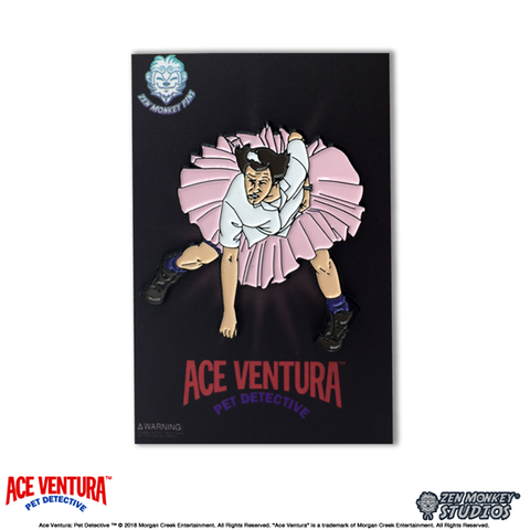 "Ace Ventura Pet Detective ""Put Me in Coach"" Pin"