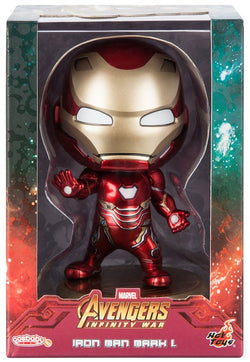 Hot Toys Marvel Avengers: Infinity War - Iron Man Marl L Cosbaby