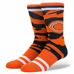 Stance NFL Chicago Bears Camo Stripe Crew Socks