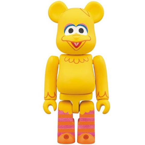 Bearbrick Sesame Street Big Bird 100% Figure