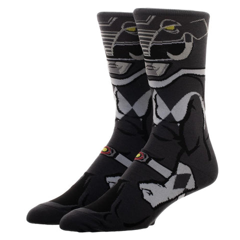 Power Rangers Black Ranger 360 Character Socks