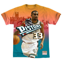 ddbe7d3d4be Mitchell & Ness NBA Detroit Pistons City Pride Tee - Grant Hill