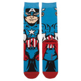 Marvel Universe Captain America 360 Socks