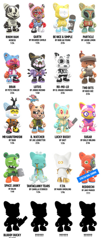 Superplatstic Janky Vinyl Figure Series 1 - Blind Box
