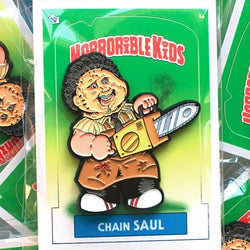 Horrible Kids Chain Saul Enamel Pin