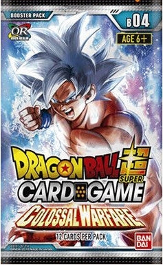 Dragon Ball Super Series 4 Booster Pack - Colossal Warfare