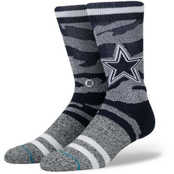 Stance NFL Dallas Cowboys Camo Stripe Crew Socks