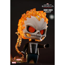 Hot Toys Marvel Agents of S.H.I.E.L.D - Ghost Rider with Hellfire Chain Cosbaby