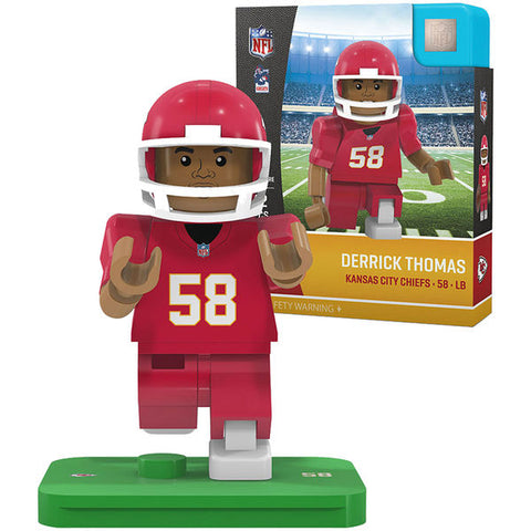 NFL Legends Kansas City Chiefs Derrick Thomas Mini Figure