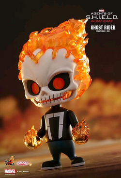 Hot Toys Marvel Agents of S.H.I.E.L.D. - Ghost Rider Cosbaby