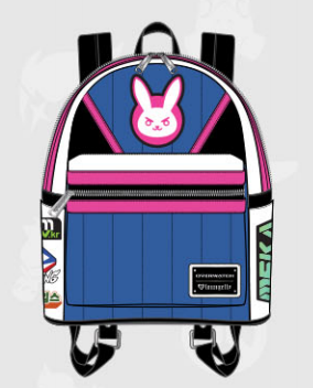 Loungefly Overwatch D. Va Mini Backpack