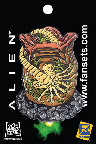 Fansets Alien Facehugger Pin