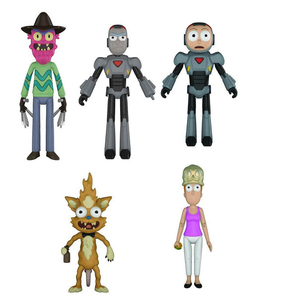 Funko Rick and Morty Series 2 Action Figure Set of 5