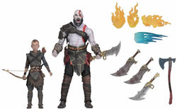 NECA God of War (2018) Ultimate Kratos & Atreus 2-Pack Action Figures