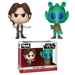 Funko Vynl Star Wars - Han Solo and Greedo