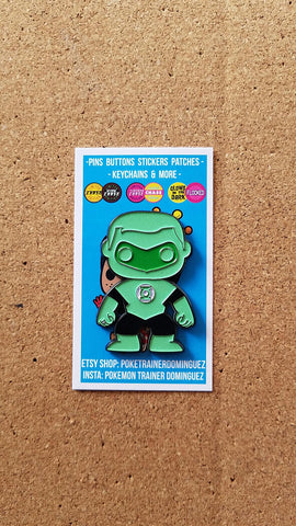 DC Comics Green Lantern Pin (Glow in the Dark)