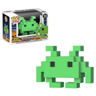 Funko Pop Games 8-Bit Space Invaders - Medium Invader