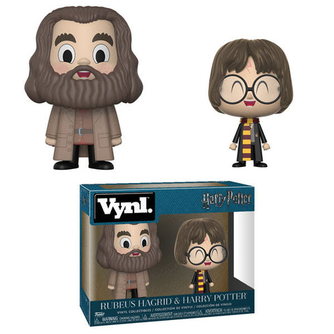 Funko Vynl Harry Potter - Hagrid and Harry 2-Pack