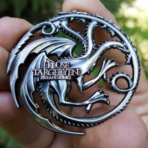 Game of Thrones House Targeryen Coin