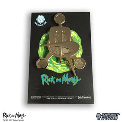 Rick and Morty Council of Monty's Emblem Pin