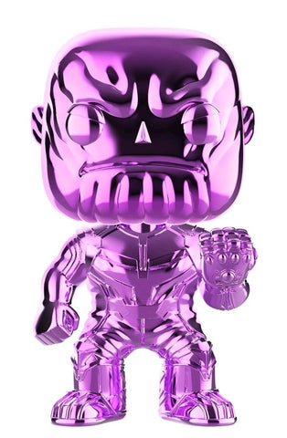 Funko Pop Marvel Avengers Infinity War - Thanos (Purple Chrome)