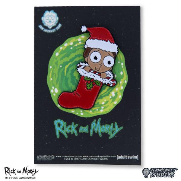 Rick and Morty Stocking Stuffer Morty Pin