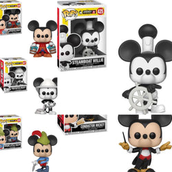 Funko Pop Disney Mickey's 90th Set of 5