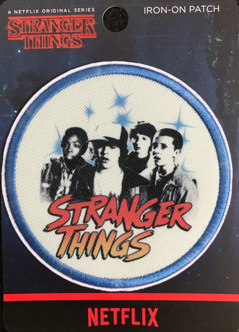 Loungefly Stranger Things Group Iron-On Patch