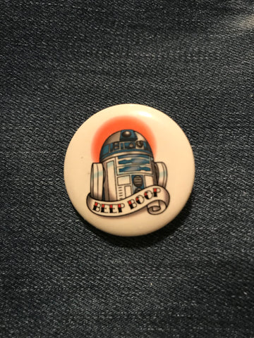 Star Wars R2-D2 Beep Boop Button