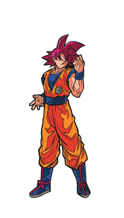 FiGPiN Dragon Ball Super - Super Saiyan God Goku
