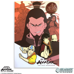 Avatar: The Last Airbender Book 3 Pin Set