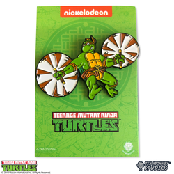 Teenage Mutant Ninja Turtles - Leaping Mikey Pin