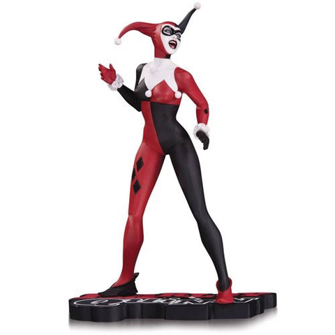 DC Collectibles Harley Quinn Red Black and White Statue