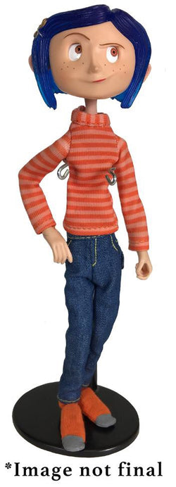 NECA Coraline in Striped Shirt and Jeans Action Figure