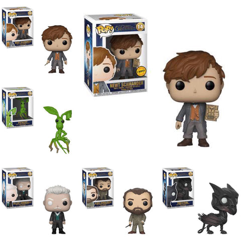 Funko Pop Movies Fantastic Beasts 2 Set of 6 with Chase