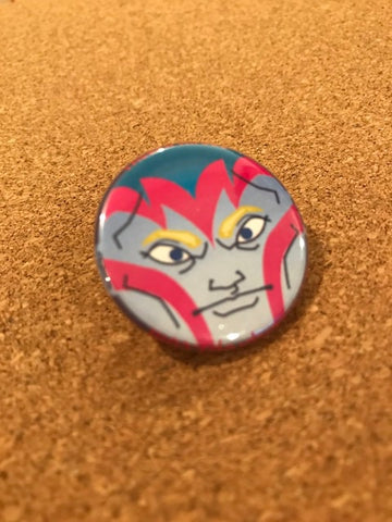 Marvel Arc Angel Pin Back Button