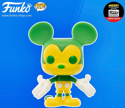 Funko Pop Disney Mickey's 90th - Mickey Mouse (Green and Yellow)
